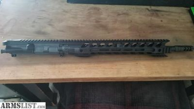 For Sale: Complete upper with Fortis Night rail.
