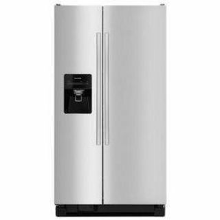 Amana 24.49 cu ft Side By Side Refrigerator Stainless Steel *Closeout*
