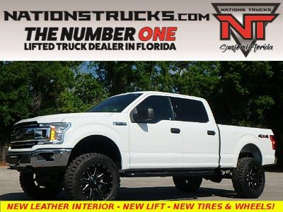 2018 Ford F-150 XLT Leather SuperCrew 4x4 (Oxford White)