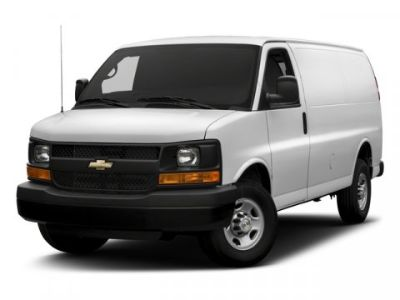 2017 Chevrolet Express Cargo Van (BLACK)