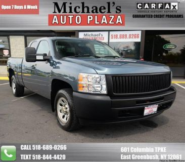 2012 Chevrolet Silverado 1500 4x4 Work Truck 4dr Extended Cab w/Clean Carfax! We Finance, Trades Welcome! Stock#11789