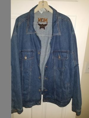 BIG and TALL, Guys MCM Jean Jacket, 3X