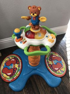 V-Tech Sit to Stand Dancing Tower - Like New!