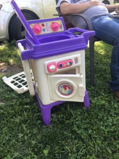 Toy washer and dryer