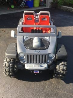 Jeep Power Wheels Ride On