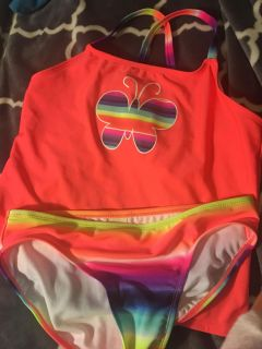 Girls new 14/16 bathing suit