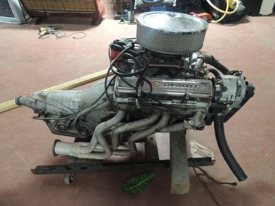 Chevy 383 Stroker Engine with Transmission