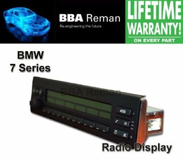 Purchase BMW 7-Series LCD Radio Display Repair Service 7 series motorcycle in Taunton, Massachusetts, United States