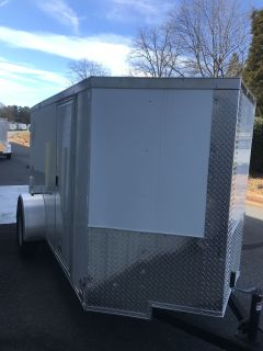 2018 Other 5X10 VNose Enclosed Trailer