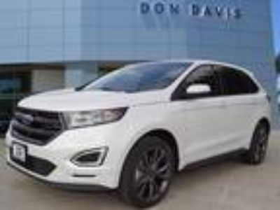 2018 Ford Edge White, 11 miles