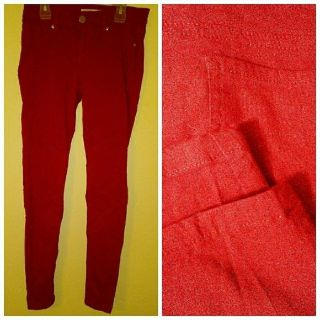 red skinny jeans new no tags.