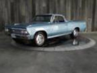 1966 El Camino #'s Match Factory AC Restored Beautiful Throughout 1966 CHEVROLET
