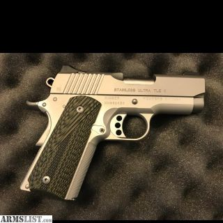 For Sale: Kimber Ultra TLE Stainless