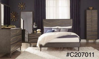 King size bed set #c200711