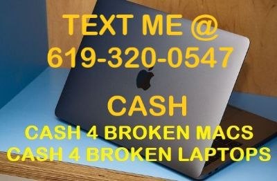 CASH 4 BROKEN LAPTOPS