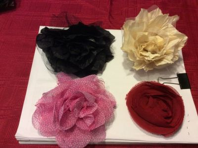 Thirty One rosette clips/pins