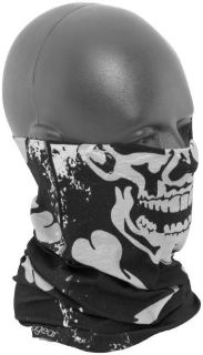 Purchase Zan Headgear Motocross Motorcycle Snowmobile Snow Winter Skull Motley Neck Tube motorcycle in Manitowoc, Wisconsin, United States, for US $8.95