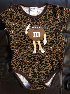 M&M Candy Adorable Onesie Playsuit. Bought In New York Time Square. Like New Condition. Size 18 Months