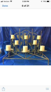 Candle holder/candles