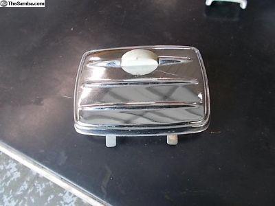 Oval convertible rear ashtray Very Nice