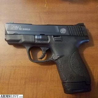 For Sale: M&P shield 40cal