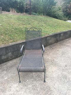Great iron chaise