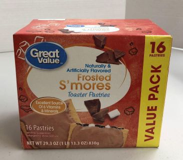USA Food - Frosted S mores Toaster Pastries
