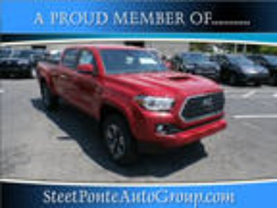 2018 Toyota Tacoma Red, 57 miles
