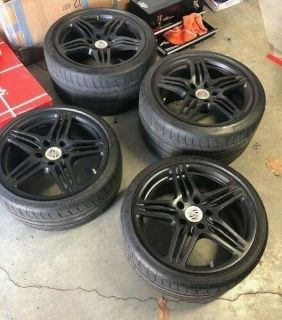 OEM 997 Turbo Wheels, Michelin Pilot Sport 2 Tires, TPMS