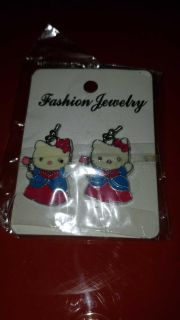 New hello kitty earrings