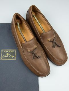 Men's Sperry Top - Sider Gold Cup Tassel Shoes, Loafers 13m
