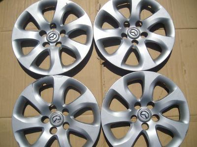 """Purchase 2010 2011 FOUR 16"""" MAZDA 3 HUB CAP WHEEL COVERS motorcycle in Houston, Texas, US, for US $69.99"""