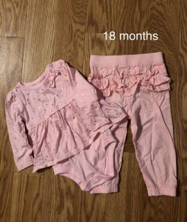 Ruffle bottom outfit - 18 months