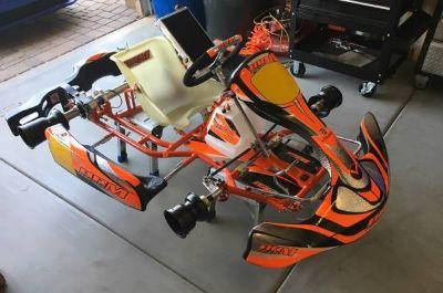 Tag kart chassis