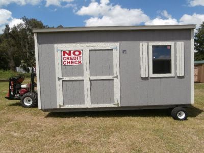 STORAGE SHEDS RENT TO OWN NO CREDIT CHECK