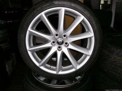 4 19 inch jaguar WHEELS AND TIRES atlanta (with shipping availab