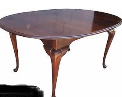 Cresent Furniture solid cherry dining set with buffet