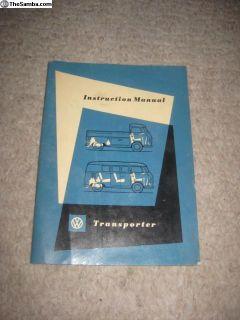 11/56 Bus Owners Manual