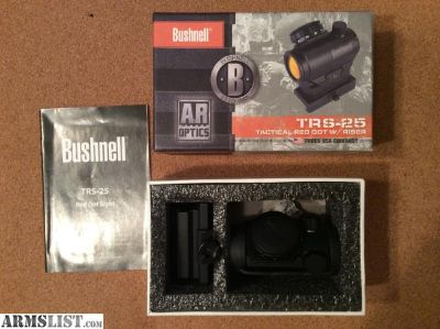 For Sale/Trade: TRS-25 Red Dot Sight