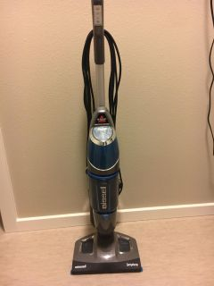 Bissell 1132A Symphony All-in-One Vacuum and Steam Mop
