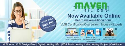 Maven Silicon offers online VLSI Courses/ VLSI Courses available Online