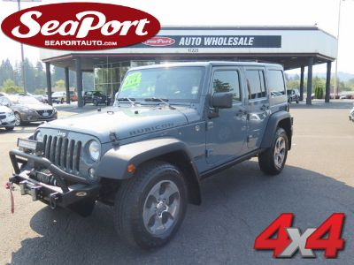 2014 Jeep Wrangler Unlimited Rubicon (Silver)