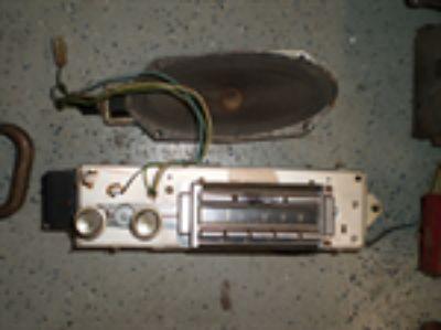 Parts For Sale: RARE GM 1962 62 Cadillac AM Wonder bar Signal Seeking Radio 7281225 Caddy