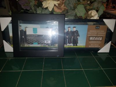 2 New Panoramic Float Picture Frames. 8 27.5in. & 4in. 6in.