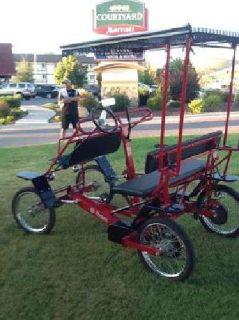 $1,000 ROADSTER amusement park type Brand new family Bike