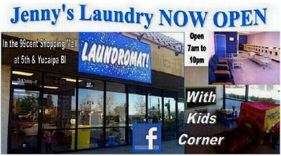 Laundromat yucaipa blvd and 5th street