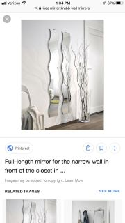 IKEA wall mirror. 1 new in package never used