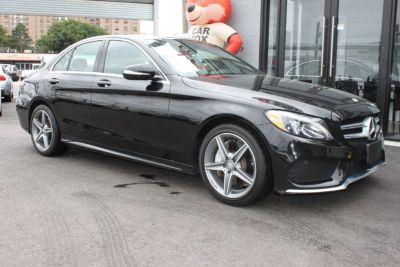 2015 Mercedes-Benz C-Class ///AMG 4dr Sdn C300 Sport 4MATIC (Obsidian Black Metallic)