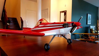 RARE Kyosho Cessna 188 Agwagon (Crop Duster) RTF with Low Time Saito FA-65