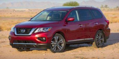 2017 Nissan Pathfinder SL (Magnetic Black Metallic)